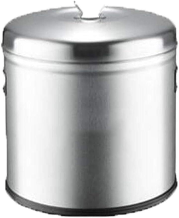 Barril sellado de acero inoxidable barril arroz hogar arroz caja de almacenamiento de vino multifuncional de almacenamiento barril barril leche a prueba de humedad se puede utilizar for barriles de le