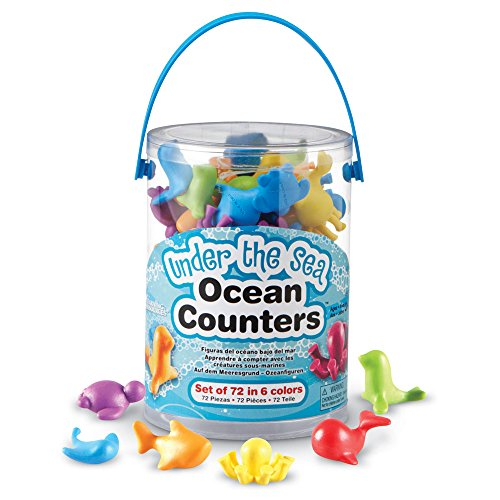 Learning Resources Under the Sea Ocean Counters