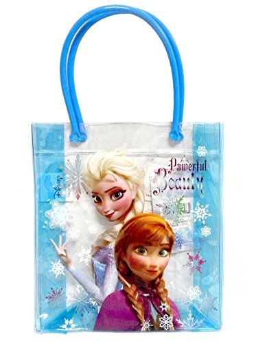 Elsa Halloween Treat Bag (Disney Frozen PVC Tote Bag Features Elsa and)