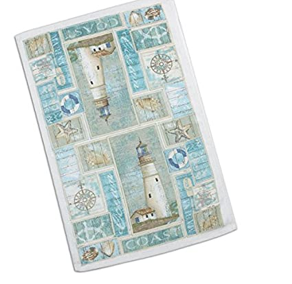 Kay Dee Designs R2350 Coastal Lighthouse Terry Towel