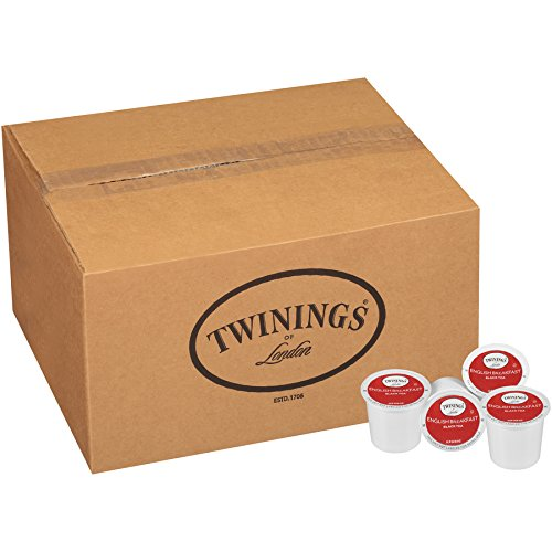 Twinings of London English Breakfast Tea K-Cups for Keurig, 56 Count by Twinings