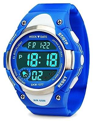 My-Watch Boys Sport Digital Watch Kids Outdoor Waterproof Stopwatch LED Electronic Wrist Watches from My-Watch