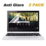 """2 Pack 11.6 Inch Anti Glare Screen Protector Compatible Acer Chromebook R11 11.6"""", ASUS Chromebook C201 C202SA 11.6"""", Samsung Chromebook 11.6"""", Dell i3162 i3168 i3169, HP Chromebook 11"""
