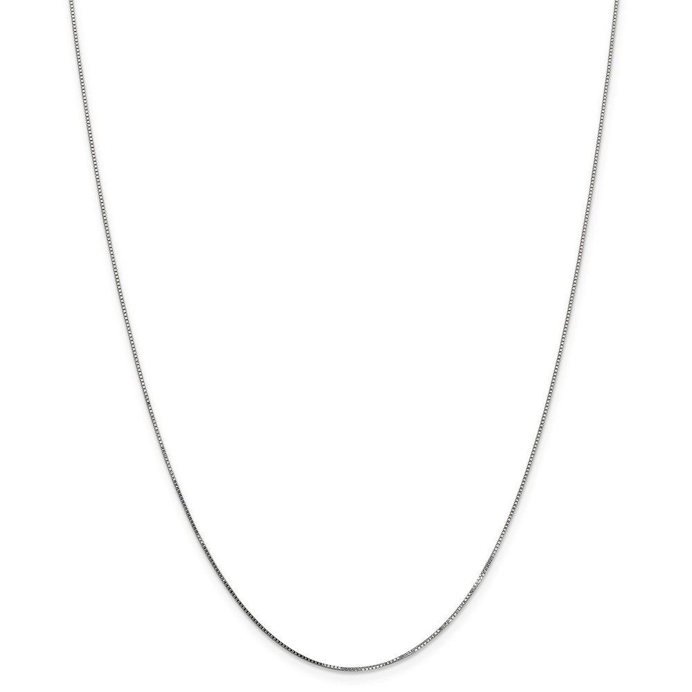 Mireval 14K Yellow Gold 0.70mm Box Chain Necklace