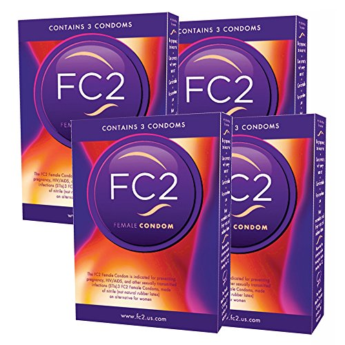 FC2 Female Condoms, 12 Count (Best Condoms For Women)