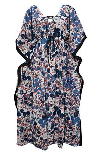 womens-kaftan-dress-lace-up-ink-splash-long-caftan-beach-coverup-large