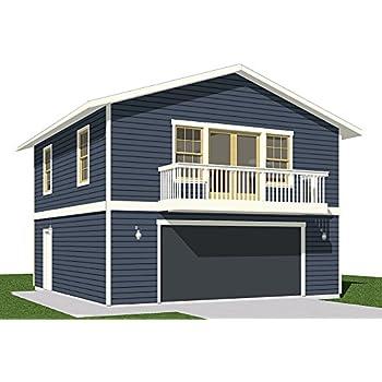 garage plans roomy 2 car garage plan with 6 ft front porch 676 fp 20 39 x 24 39 two car. Black Bedroom Furniture Sets. Home Design Ideas