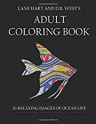 Adult Coloring Book: 20 Relaxing Images of Ocean Life