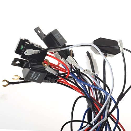 KAWELL® 2 Legs Wiring Harness and Switch Support 300W Double ... on