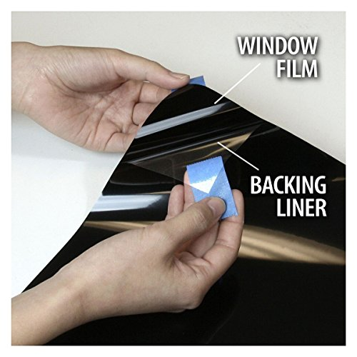 BDF S8MB50 WIndow Film Security and Safety 8 Mil Black 50 (Light) - 48in X 24ft by Buydecorativefilm (Image #5)