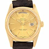 Best Rolex Watches For Men - Rolex Day-Date automatic-self-wind mens Watch 18038 (Certified Pre-owned) Review