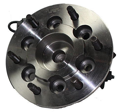 2WD Only Brand New Front Left Wheel Hub and Bearing Assembly for 2004-2008 Canyon Colorado 2WD 6 Bolt W/ABS 515108 (Right Hub Bolt)