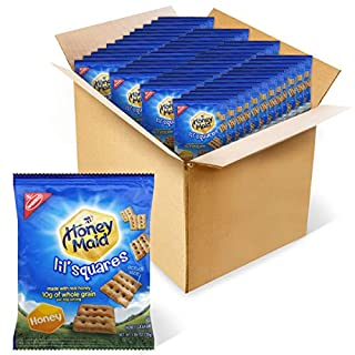 Honey Maid Lil' Squares Honey Graham Crackers, 72 - 1.06 oz Packs