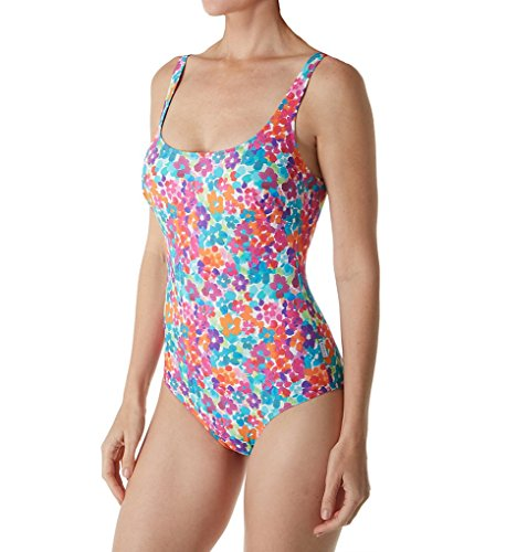 Anita One Piece Swimsuit - Anita Tropical Vibes Marle Underwire One Piece Swimsuit (7735) 40D/Original