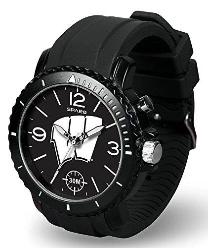 NCAA Wisconsin Badgers Ghost Watch, Black