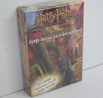 Harry Potter - Juego de cartas intercambiables - Juego ...