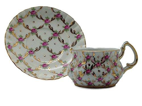 - Victorian Mini Tea Set Rose Cup & Saucer