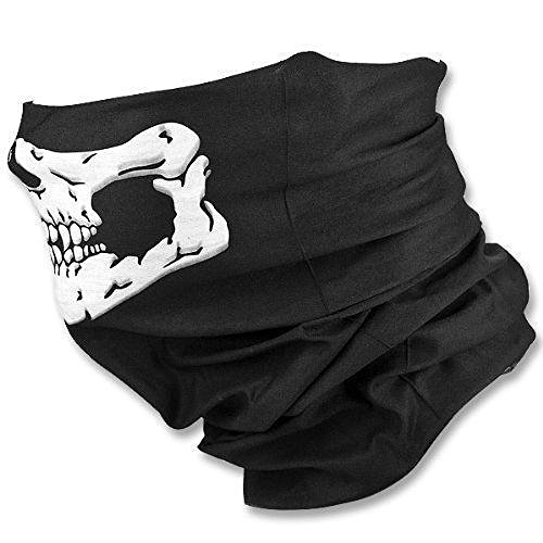 Youzee Skeleton Ghost Skull Face Mask Biker Balaclava Call of Duty COD Halloween Costume Game