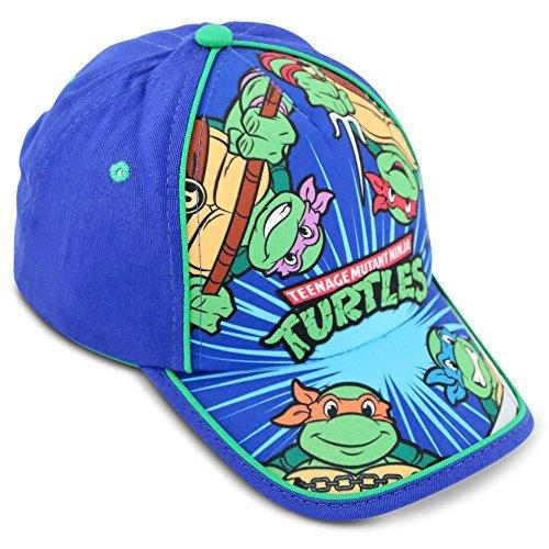 Nickelodeon Little Boys TMNT Cotton Baseball Cap, Age