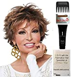 Bundle - 5 items: Voltage by Raquel Welch Wig, Christy's Wigs Q & A Booklet, Wig Shampoo, Wig Cap & Wide Tooth Comb (Color Selected: R9F26)