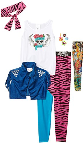 Awesome 80s Halloween Costumes (California Costumes 80's Glam Rocker Child Costume, Medium Plus)
