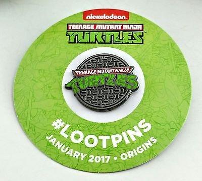 Teenage Mutant Ninja Turtles TMNT 1 inch Metal Lapel / Hat / Cloisonne / Festival Pin
