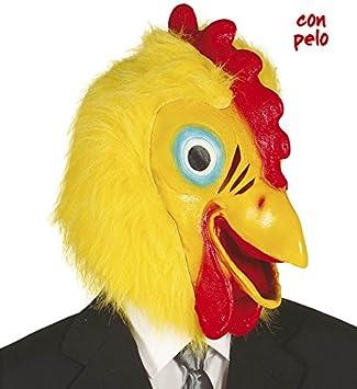 FIESTAS GUIRCA Gallo Gallo de Goma máscara Disfraz los Animales ...