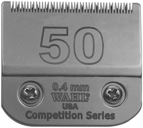 Wahl Competition Series Detachable Blade Set - #50 Ultra Surgical - 0.4 (Wahl Competition Series)