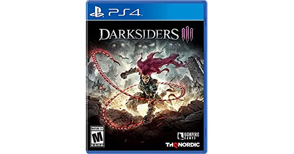 Amazon com: Darksiders III - PlayStation 4: Thq Nordic
