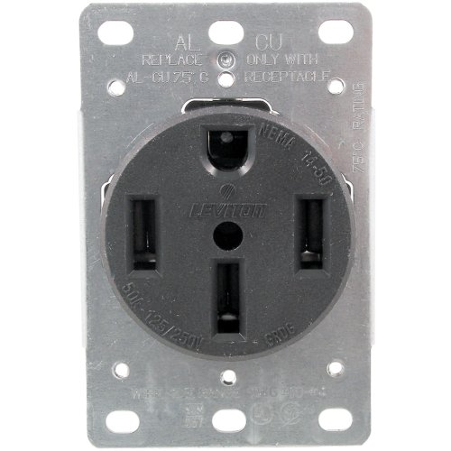 279 Single-Flush Range Receptacle (4 wire) Home, garden & living (Flush Receptacle Range)