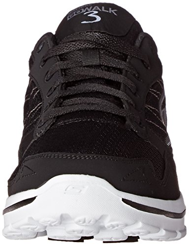 Black Compete para Walk Deporte Zapatillas GO 3 de Hombre White Skechers ZwSxzqUaWW