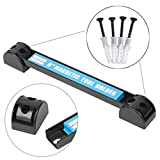 Onpiece 8'' 12'' 18'' Magnetic Tool Holder Bar Racks with 4 Mounting Screws, Metal Magnet Storage Tool Organizer Racks, Great for Garage Workshops (8'')