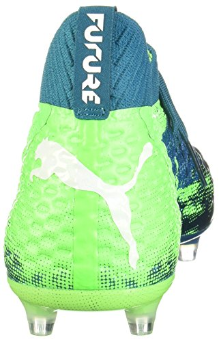 puma Netfit White Gecko 18 AG Lagoon FG 1 Cleats green PUMA Men's Deep Soccer Future qawTTP