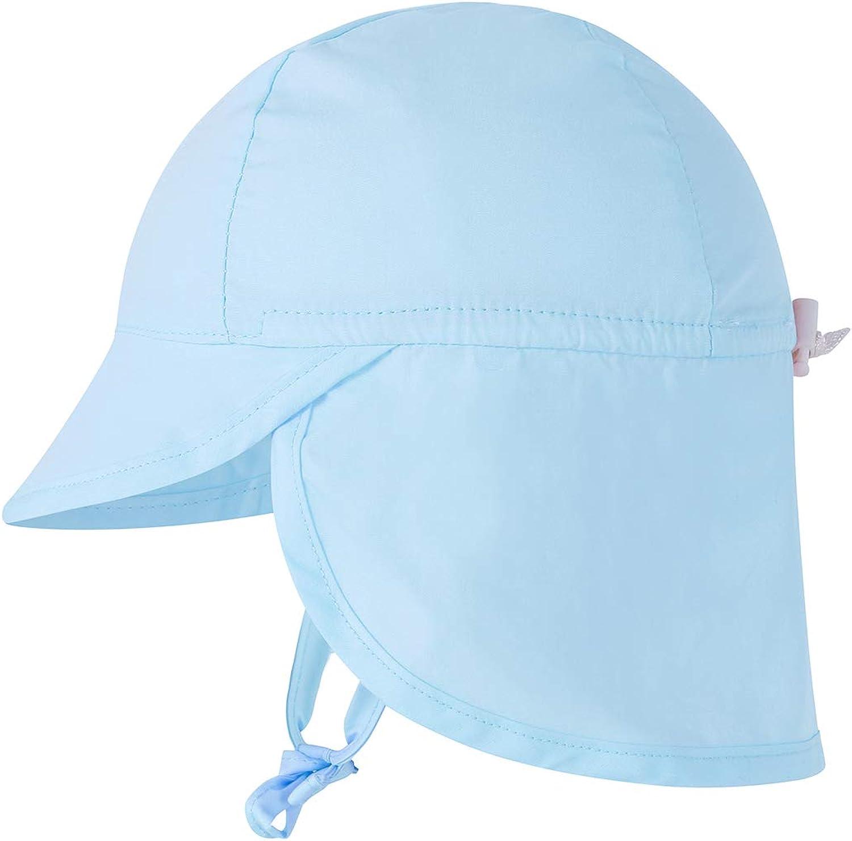 Beach KIDSFORM Baby Toddler Kids Cotton Sun Hat Outdoors Boys Girls Summer Bucket Flap Hats for Holiday
