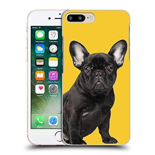 GoGoMobile Coque de Protection TPU Silicone Case pour // Q05630611 Bouledogue noir giallo banana // Apple iPhone 7 PLUS