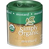 5 Savers Package:Simply Organic Mini Ground Mustard Seed (6x.46 Oz)