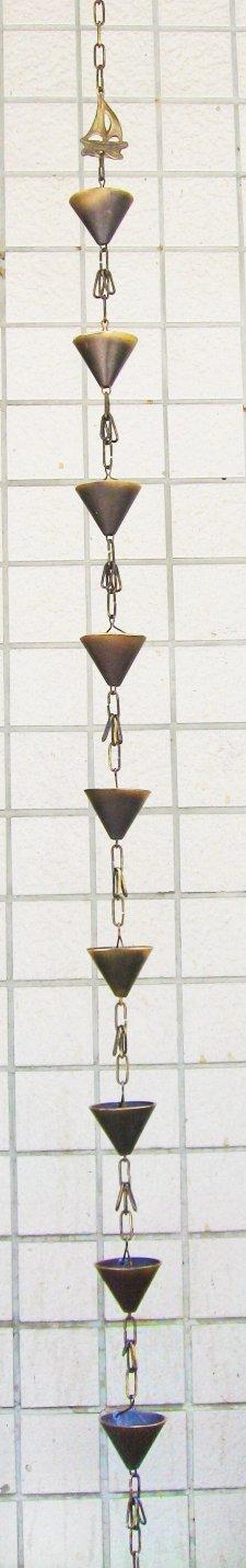 Brass Sail Rain Cups