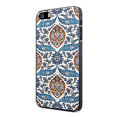 iPhone 4 / 4S Hülle - Iznik Muster Orientalisch #03 - Hardcase Cover Case Schale Design Orient