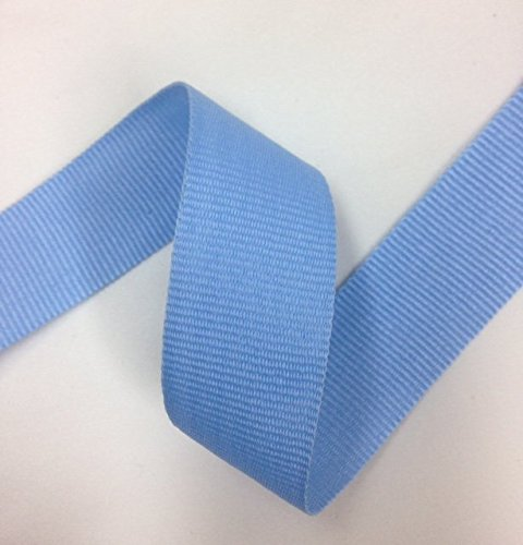 1'' Wide Bluebird Rayon Grosgrain Ribbon Binding Tape Wedding Party Decoration Craft Supply Selling For 1 Roll/30 yards TOP TRIMMING