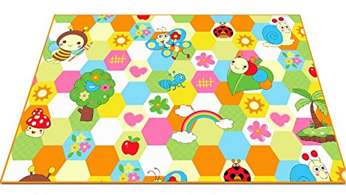 FADFAY Home TextileCute Honeybee Kids Living Room Carpet