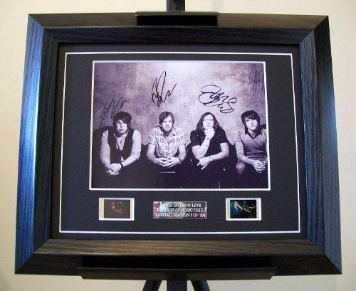 artcandi Kings of Leon Signed + Live 35mm Film Footage Framed