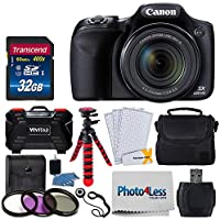 Canon PowerShot SX530 HS Digital Camera + 32GB SDHC...