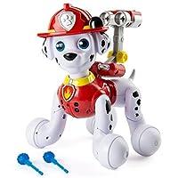 Paw Patrol, Zoomer Marshall, cachorro interactivo con misiones, sonidos y frases, por Spin Master