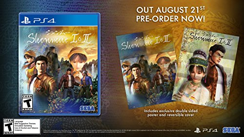 Shenmue I   Ii   Playstation 4