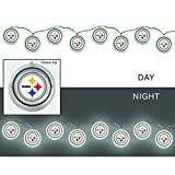 Team Sports America 2LA3824SL Pittsburgh Steelers String Lights