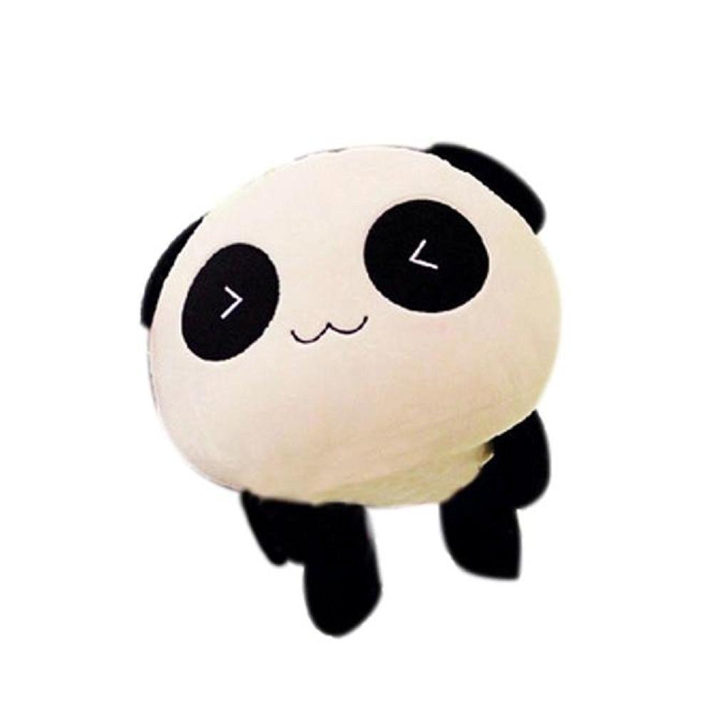 DIS Kawaii Plush Doll Toy Animal China Panda Pillow Stuffed Bolster Xmas Gift (Heart Eyes 25CM/10 Inch) Blueclassic
