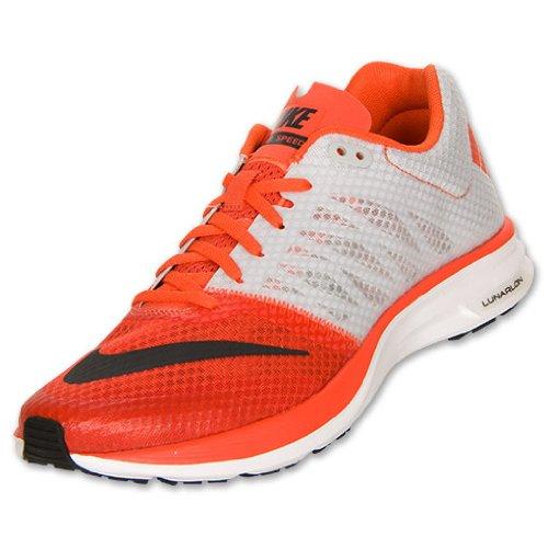 Nike Lunarspeed +, Heren Sportschoenen Team Oranje / Antraciet / Zuiver Platina / Wit, Maat 9.5