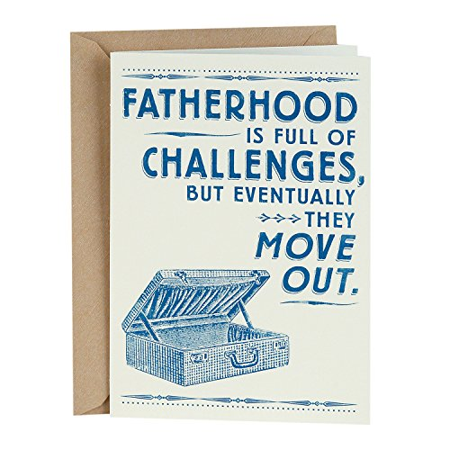 Hallmark Shoebox Funny Father's Day Greeting Card (Fatherhood is Full of Challenges)