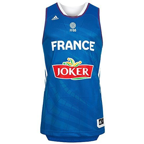ADIDAS PERFORMANCE Maillot Basket France Officiel
