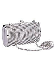 Jubileens Luxury Rhinestones Clutch Bridal Wedding Evening Party Prom Bags Handbags